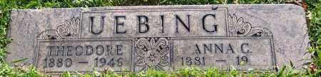 UEBING, ANNA C. - Stark County, Ohio | ANNA C. UEBING - Ohio Gravestone Photos