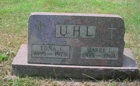 EDDY UHL, EDNA I - Stark County, Ohio | EDNA I EDDY UHL - Ohio Gravestone Photos
