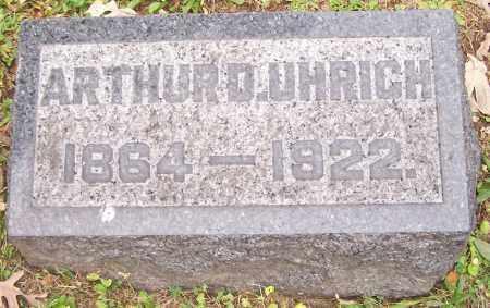 UHRICH, ARTHUR D. - Stark County, Ohio | ARTHUR D. UHRICH - Ohio Gravestone Photos