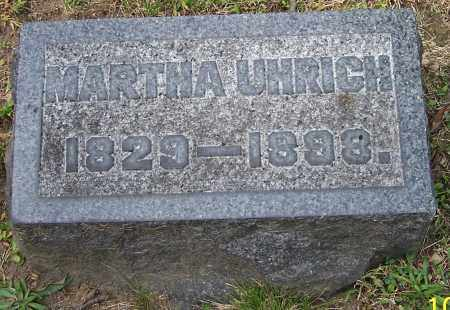 UHRICH, MARTHA - Stark County, Ohio | MARTHA UHRICH - Ohio Gravestone Photos