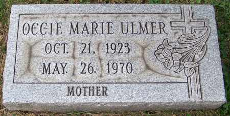 ULMER, OCCIE MARIE - Stark County, Ohio | OCCIE MARIE ULMER - Ohio Gravestone Photos