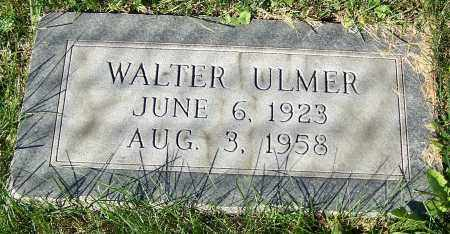 ULMER, WALTER - Stark County, Ohio | WALTER ULMER - Ohio Gravestone Photos