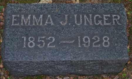 RUPERD UNGER, EMMA J. - Stark County, Ohio | EMMA J. RUPERD UNGER - Ohio Gravestone Photos