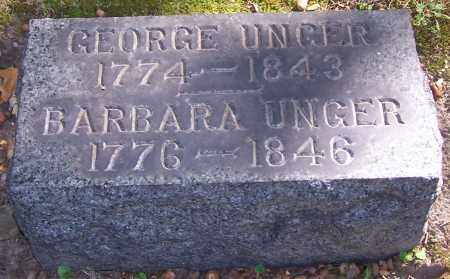 UNGER, GEORGE - Stark County, Ohio | GEORGE UNGER - Ohio Gravestone Photos