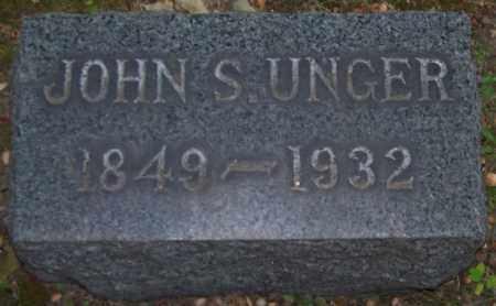 UNGER, JOHN S. - Stark County, Ohio | JOHN S. UNGER - Ohio Gravestone Photos