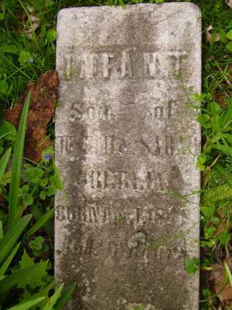 UNKNOWN, INFANT SON - Stark County, Ohio | INFANT SON UNKNOWN - Ohio Gravestone Photos