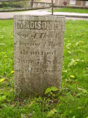 UNKNOWN, MADISON H. - Stark County, Ohio   MADISON H. UNKNOWN - Ohio Gravestone Photos