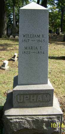 UPHAM, WILLIAM K. - Stark County, Ohio | WILLIAM K. UPHAM - Ohio Gravestone Photos