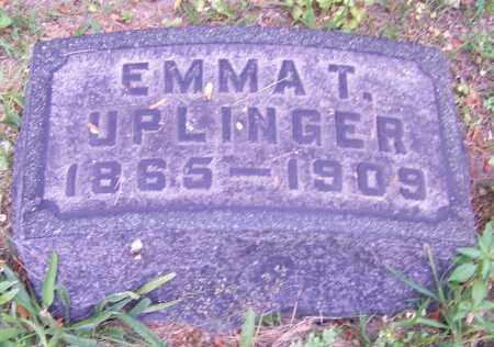 UPLINGER, EMMA T. - Stark County, Ohio | EMMA T. UPLINGER - Ohio Gravestone Photos