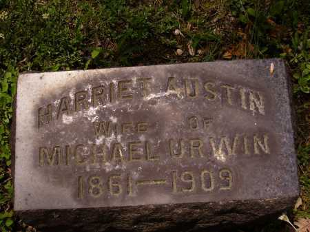 AUSTIN URWIN, HARRIET - Stark County, Ohio | HARRIET AUSTIN URWIN - Ohio Gravestone Photos