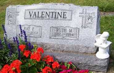 VALENTINE, RAY P. - Stark County, Ohio | RAY P. VALENTINE - Ohio Gravestone Photos