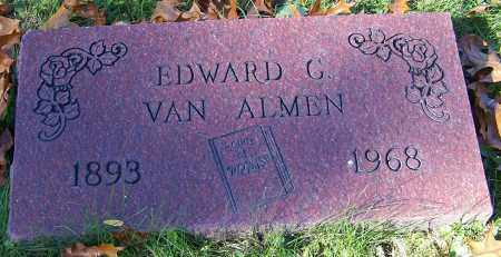 VAN ALMEN, EDWARD G. - Stark County, Ohio | EDWARD G. VAN ALMEN - Ohio Gravestone Photos