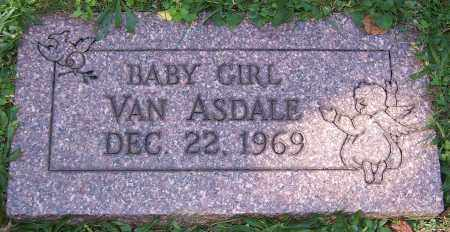 VAN ASDALE, BABY GIRL - Stark County, Ohio | BABY GIRL VAN ASDALE - Ohio Gravestone Photos