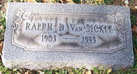 VAN SICKLE, RALPH D. - Stark County, Ohio | RALPH D. VAN SICKLE - Ohio Gravestone Photos