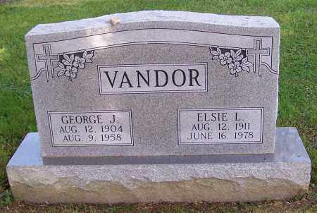 VANDOR, GEORGE J. - Stark County, Ohio | GEORGE J. VANDOR - Ohio Gravestone Photos
