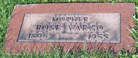 VARGO, ROSE - Stark County, Ohio | ROSE VARGO - Ohio Gravestone Photos