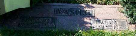 VASILO, ANNA - Stark County, Ohio | ANNA VASILO - Ohio Gravestone Photos