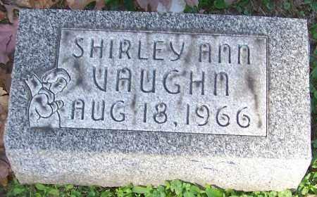 VAUGHN, SHIRLEY ANN - Stark County, Ohio | SHIRLEY ANN VAUGHN - Ohio Gravestone Photos