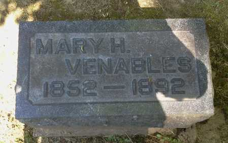 VENABLES, MARY H. - Stark County, Ohio | MARY H. VENABLES - Ohio Gravestone Photos