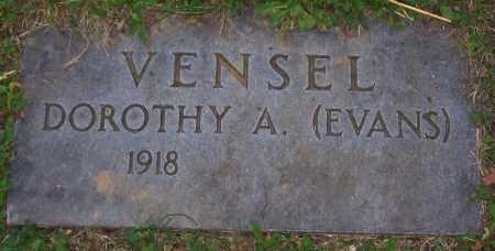 EVANS VENSEL, DOROTHY A. - Stark County, Ohio | DOROTHY A. EVANS VENSEL - Ohio Gravestone Photos
