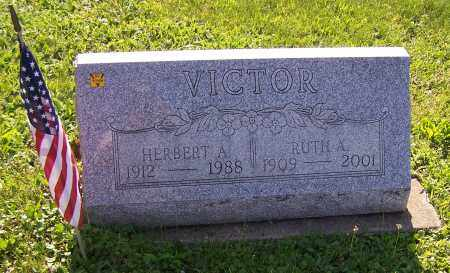 VICTOR, RUTH A. - Stark County, Ohio | RUTH A. VICTOR - Ohio Gravestone Photos