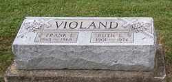 VIOLAND, FRANK  L. - Stark County, Ohio | FRANK  L. VIOLAND - Ohio Gravestone Photos