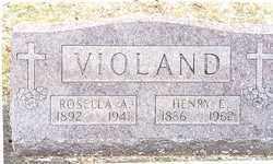 GERO VIOLAND, ROSELLA A. - Stark County, Ohio | ROSELLA A. GERO VIOLAND - Ohio Gravestone Photos