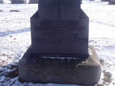 VIOLAND, JOHN BAPTISTE - Stark County, Ohio | JOHN BAPTISTE VIOLAND - Ohio Gravestone Photos