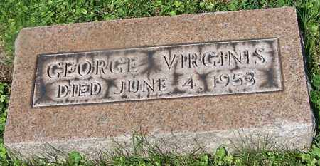 VIRGINIS, GEORGE - Stark County, Ohio | GEORGE VIRGINIS - Ohio Gravestone Photos