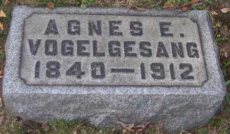 VOGELGESANG, AGNES E. - Stark County, Ohio | AGNES E. VOGELGESANG - Ohio Gravestone Photos