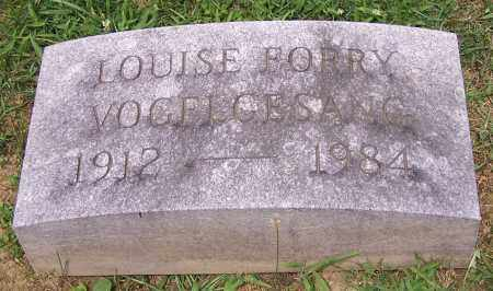 VOGELGESANG, LOUISE FORRY - Stark County, Ohio | LOUISE FORRY VOGELGESANG - Ohio Gravestone Photos