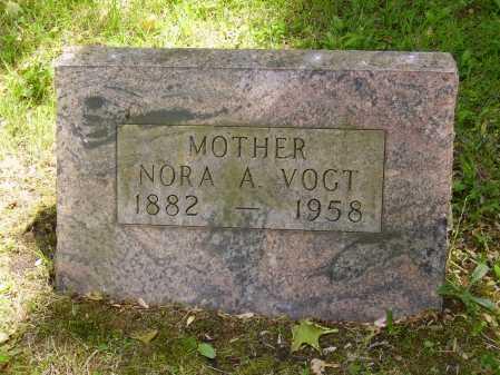 VOGT, NORA A. - Stark County, Ohio | NORA A. VOGT - Ohio Gravestone Photos