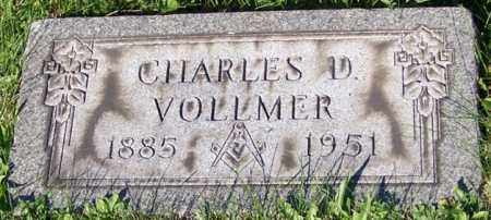 VOLLMER, CHARLES D. - Stark County, Ohio | CHARLES D. VOLLMER - Ohio Gravestone Photos