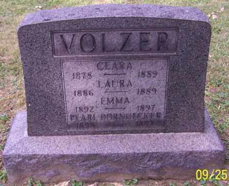 VOLZER, CLARA - Stark County, Ohio | CLARA VOLZER - Ohio Gravestone Photos