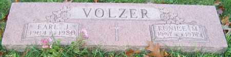 VOLZER, EARL J. - Stark County, Ohio | EARL J. VOLZER - Ohio Gravestone Photos