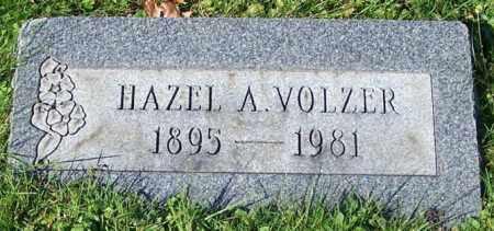 VOLZER, HAZEL A. - Stark County, Ohio | HAZEL A. VOLZER - Ohio Gravestone Photos