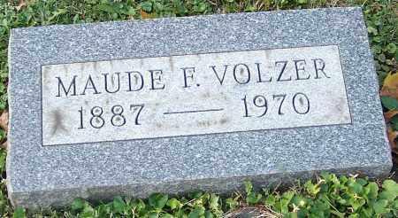 VOLZER, MAUDE F. - Stark County, Ohio | MAUDE F. VOLZER - Ohio Gravestone Photos