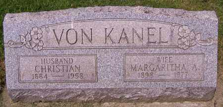 VON KANEL, CHRISTIAN - Stark County, Ohio | CHRISTIAN VON KANEL - Ohio Gravestone Photos
