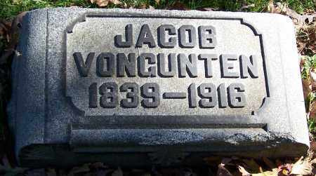 VONGUNTEN, JACOB - Stark County, Ohio | JACOB VONGUNTEN - Ohio Gravestone Photos