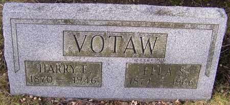 VOTAW, ELLA S. - Stark County, Ohio | ELLA S. VOTAW - Ohio Gravestone Photos