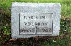 VOURRON, CAROLINE - Stark County, Ohio | CAROLINE VOURRON - Ohio Gravestone Photos