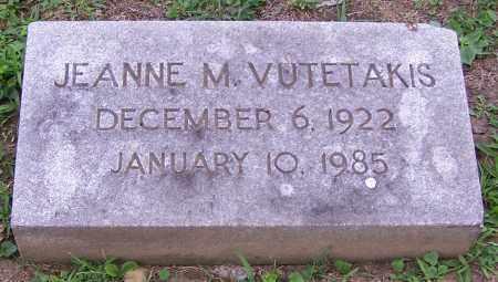 VUTETAKIS, JEANNE M. - Stark County, Ohio | JEANNE M. VUTETAKIS - Ohio Gravestone Photos
