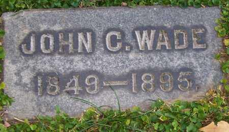WADE, JOHN C. - Stark County, Ohio | JOHN C. WADE - Ohio Gravestone Photos