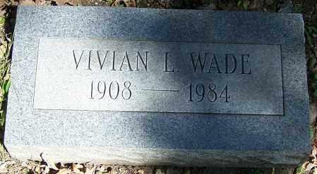 WADE, VIVIAN L. - Stark County, Ohio | VIVIAN L. WADE - Ohio Gravestone Photos