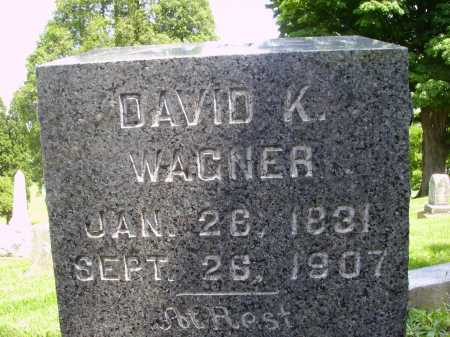 WAGNER, DAVID K. - Stark County, Ohio | DAVID K. WAGNER - Ohio Gravestone Photos