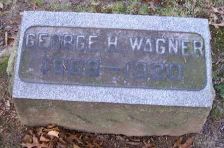 WAGNER, GEORGE H. - Stark County, Ohio | GEORGE H. WAGNER - Ohio Gravestone Photos
