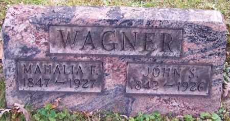 WAGNER, JOHN S. - Stark County, Ohio | JOHN S. WAGNER - Ohio Gravestone Photos