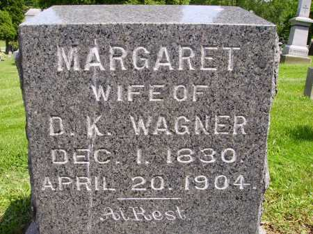 WAGNER, MARGARET - Stark County, Ohio | MARGARET WAGNER - Ohio Gravestone Photos