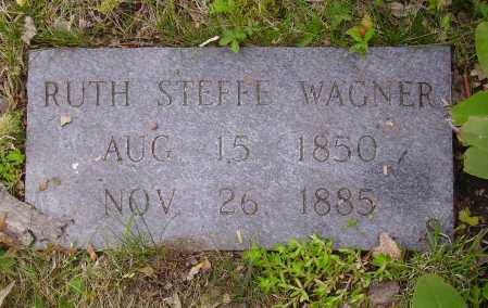 STEFFE WAGNER, RUTH - Stark County, Ohio | RUTH STEFFE WAGNER - Ohio Gravestone Photos