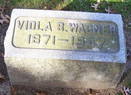 WAGNER, VIOLA B. - Stark County, Ohio | VIOLA B. WAGNER - Ohio Gravestone Photos